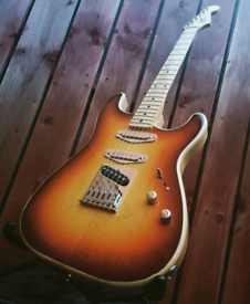 Hanlon Custom Guitars Stratele Stratocaster / Telecaster hybrid guitar