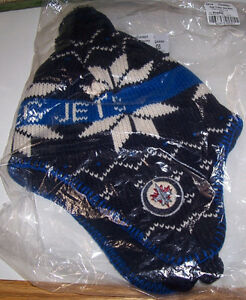 Winnipeg Jets Youth T-Shirt and Winter Head Cover Set London Ontario image 3