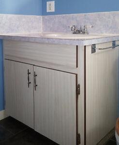 Bathroom Vanity, Countertop, Sink & Faucet