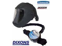 Jackson air fed mask