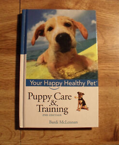 Puppy Care & Training by Bardi McLennan - Hard Cover Book