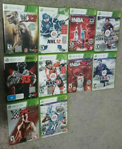 Sports Games for Xbox 360