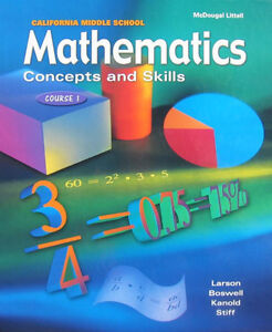 Looking for high school MATH/SCIENCE textbooks