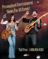 Personalized Live Entertainment Shows For All Events!