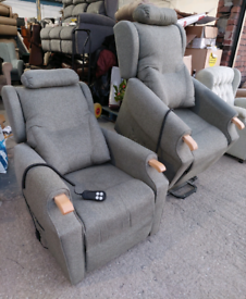 Recliner Chairs - Extra Comfy Sturdy Adjustamatic Ascot Belvedere Pine