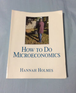 How to Do Microeconomics, ECON 1B03 at McMaster