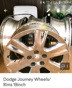 Dodge journey 19inch wheels with sensors