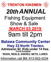 20th KINSMEN FISHING SHOW AND SALE