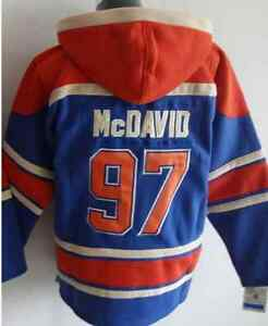 NHL Hockey Hoodies With Players Name On Back Kitchener / Waterloo Kitchener Area image 1