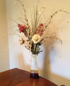 Vase with flowers, $35