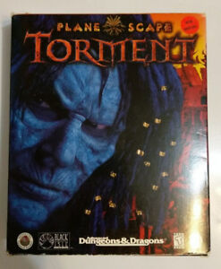 Planescape Torment PC game - box and discs