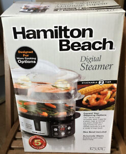 Hamilton Beach Digital Steamer - Model 37537C