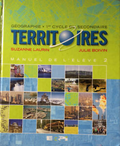 TERRITOIRES, 1ER CYCLE DU SECONDAIRE, MANUEL 2