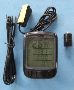 """Bicycle computer speedometer, 19"""" Samsung LCD, Lenovo Cable"""