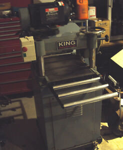 king industrial planer plus stand with wheels:Model KC382c