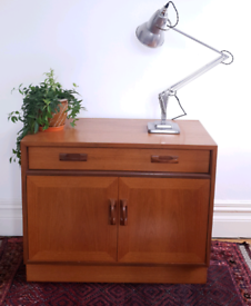 Vintage G Plan TV Hi-Fi Cabinet Cupboard