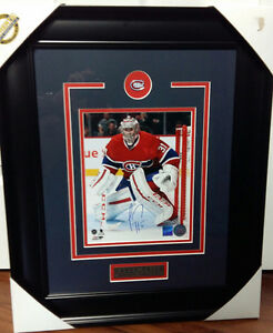 "Carey Price Autographed 8"" x 10"" Framed Picture"