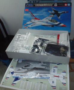 1:32 scale Thunderbirds F-16C model kit