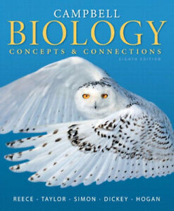 Campbell Biology Textbook: Concepts & Connections Eight Edition