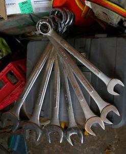 7 pc jumbo wrench set