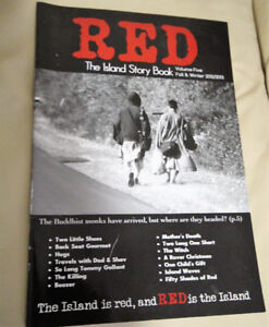 Red THE ISLAND STORY BOOK – Volume 5 – Fall and Winter 2012-2013