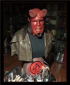 HELLBOY Bust (Lifesize and Original) Strathcona County Edmonton Area image 1