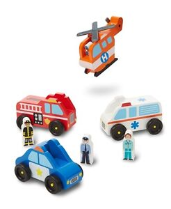 Brand New Melissa & Doug - Trucks, Cars & Trains