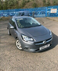 Vauxhall Corsa front end bumper 1.4 2015-2020 breaking for spares