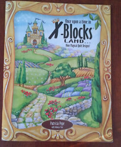 Once Upon a Time in XBLOCK Land Quilting Book, XBlocks & Pattern