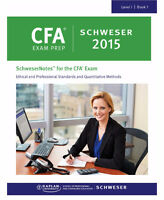 2015 CFA Level1 Latest SCHWESER, Secret Sauce,Videos,Quick sheet