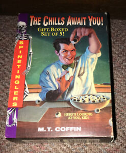 Spine Tinglers M.T. Coffin Book Set of 5 for $5 like Goosebumps