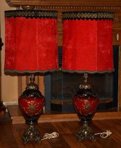 Lampes antiques uniques