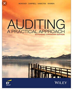 Auditing A Practical Approach extended Canadian edition