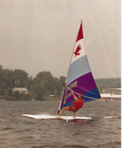 1982 Curtis Hawk Sailboard and Sail