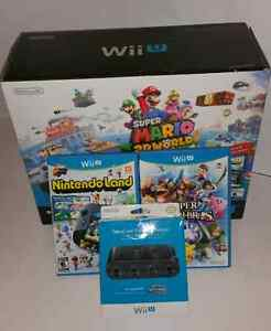 WiiU BUNDLE.  GOOD CONDITION