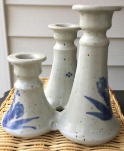 Candle holder Crimmins pottery