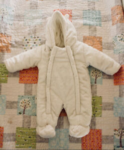 Cosy baby snow suit, George brand for 0-3months, like new