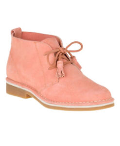 Hush Puppies Pink suede boots size 8.5