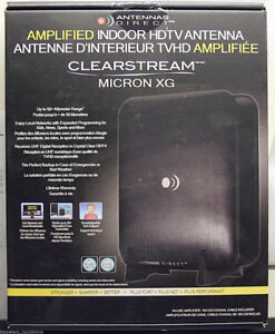 ANTENNAS DIRECT CLEARSTREAM MICRON-XG AMPLIFIED DIGITAL HDTV