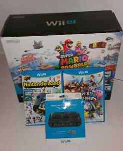 WiiU COMPLETE WITH GAMES
