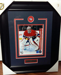 """Carey Price Autographed 8"""" x 10"""" Framed Picture"""