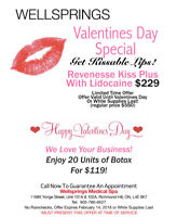 Get Kissable Lips For Valentines Day or Botox - Special Price