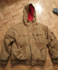 North face winter jacket coat parka large used good condition