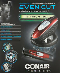 *-*new Tondeuse Even Cut Conair hommes Men Even Hair Cut CLIPPER