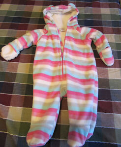 Girls Snowsuit 0-3months