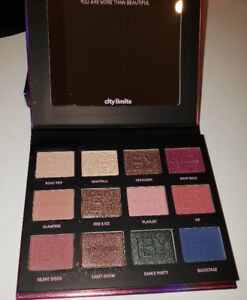 IBY COSMETICS CITY LIMITS EYESHADOW PALETTE $35 BRAND NEW