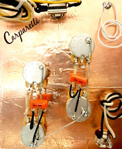 Carparelli AAA+ Pre-Wired Harness for Les Paul or similar.