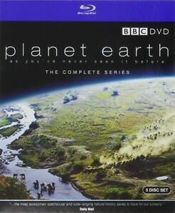 BLU-RAY! PLANET EARTH COMPLETE SEIES