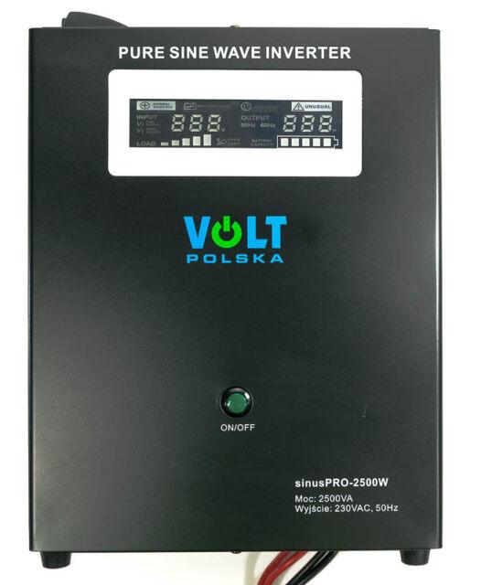 Off Grid Pure Sine Wave Inverter Charger Sinus Pro 2000W 24V /230V  20A  AVR UPS