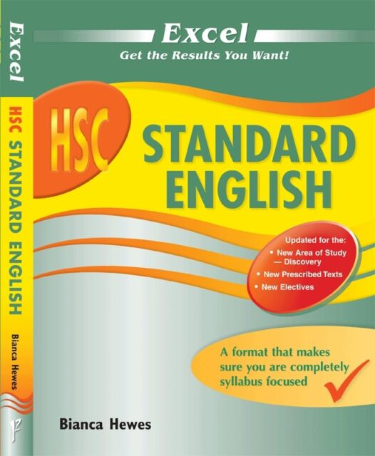Excel Study Guide: HSC Standard English (New Edition for 2015-2018 HSC)